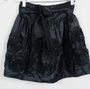 Candie's girl black mini skirt size medium